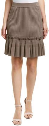 Jonathan Simkhai Johnathan Simkhai Ribbed Flare Skirt