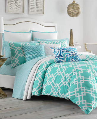 Trina Turk Avalon Aqua Twin Duvet Set
