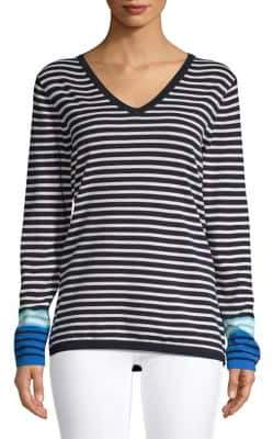 Tommy Hilfiger Striped Cotton Sweater
