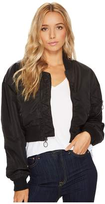 Hudson Rogue Cropped Bomber Women's Coat