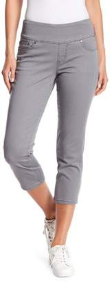 Jag Jeans Penny Twill Straight Crop Pull-On Jeggings