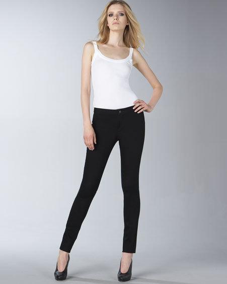 J Brand Jeans Pull-On Black Denim Leggings