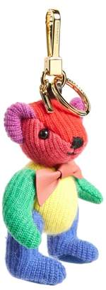 Burberry Thomas Bear Rainbow Knit Bag Charm
