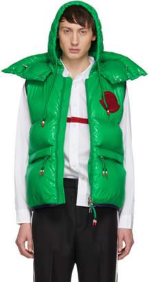 Moncler 2 1952 Green Down Lorent Vest