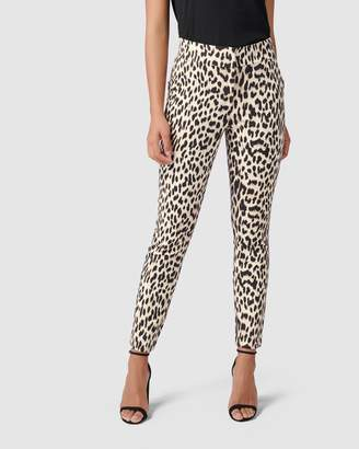 5964d4da155 High Waisted Printed Pants - ShopStyle Australia