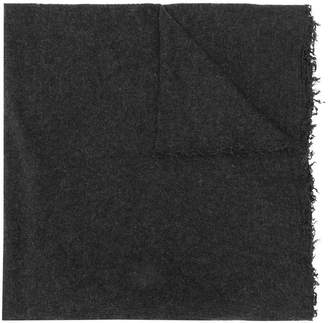 Faliero Sarti frayed fine knit scarf