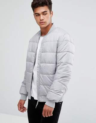 Kiomi Padded Jacket In Gray