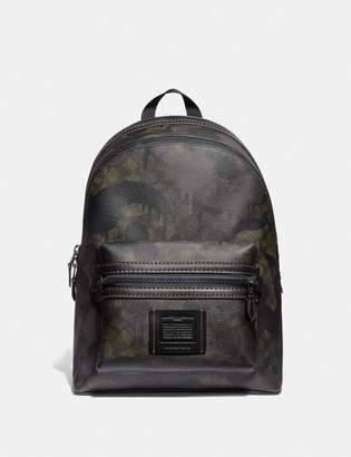 076bb4f132b5 Coach Academy Backpack In Signature Canvas With Wild Beast Print