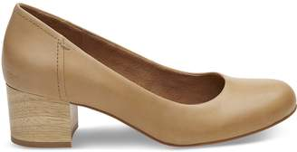 Honey Leather Women's Beverly Pumps