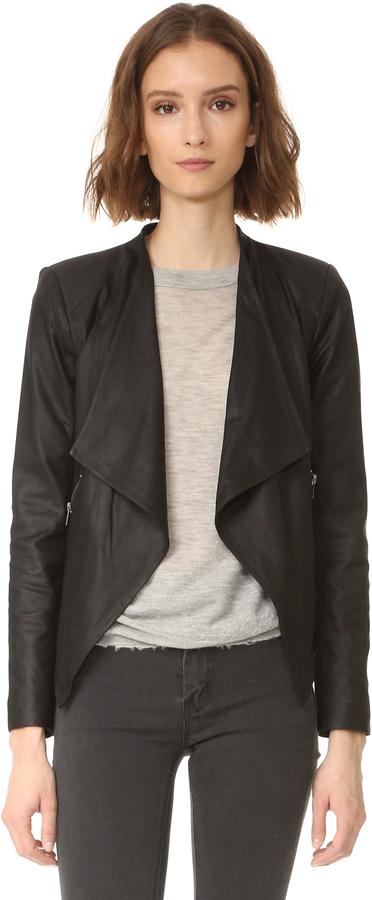 Women&39s Soft Black Leather Jacket - ShopStyle Australia