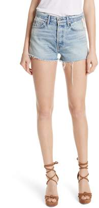 GRLFRND Cindy Side Stripe Denim Shorts