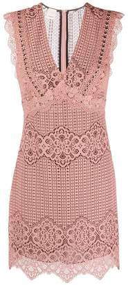 Pinko lace mini dress