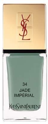 Saint Laurent La Laque Couture Nail Lacquer - # 34 Jade Imperial 10ml