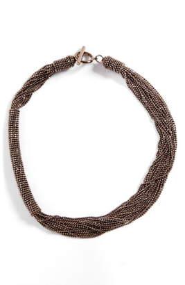 Brunello Cucinelli Monili Multistrand Necklace