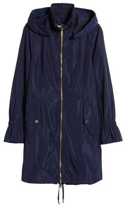 MICHAEL Michael Kors Hooded Raincoat