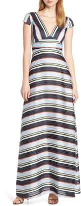 Foxiedox Tadilta Stripe Maxi Dress
