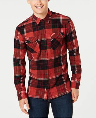 Levi's Men's Dual-Pocket Plaid Shirt
