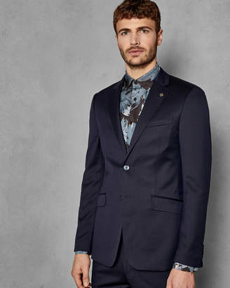 Ted Baker ARCFASJ Debonair plain wool suit jacket