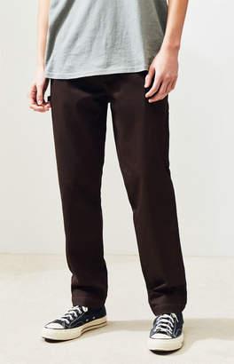 PacSun Workwear Brown Straight Leg Carpenter Chino Pants