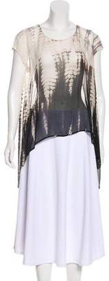 Gypsy 05 Gypsy05 Silk High-Low Blouse