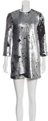 Elizabeth and James Embellished Mini Dress