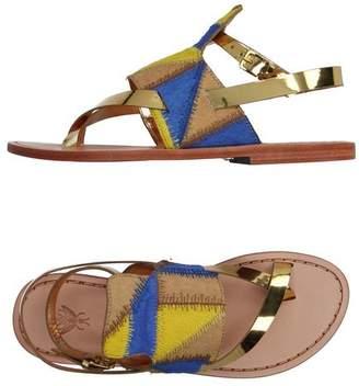 Sanchita Toe post sandal