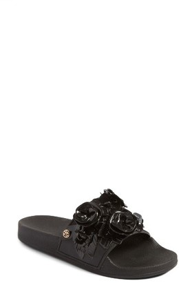 Women's Tory Burch Blossom Slide Sandal $198 thestylecure.com