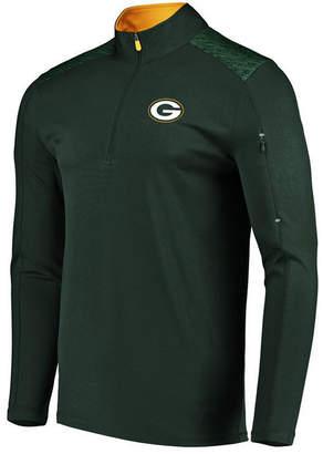 Vf Licensed Sports Group Men's Green Bay Packers Ultra Streak Half-Zip Pullover