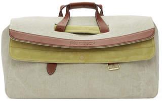 J.W.Anderson Beige Linen Large Tool Bag