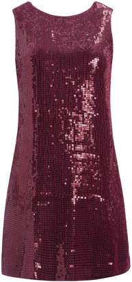 Alice + Olivia KAMRYN SEQUIN TWO WAY MINI DRESS