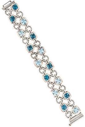 David Yurman Renaissance Topaz Link Double Bracelet