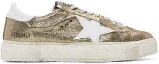 Golden Goose Gold May Sneakers