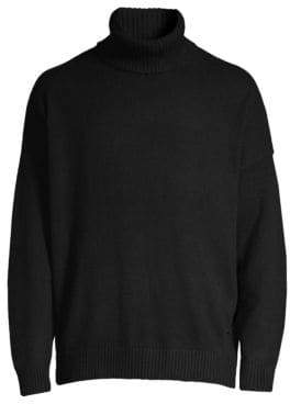 The Kooples Wool& Cashmere Turtleneck Sweater
