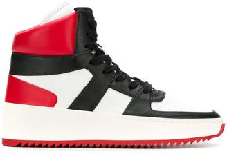 Fear Of God lace-up hi-top sneakers