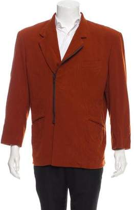Issey Miyake Vintage Asymmetric Zip Jacket