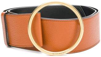 Givenchy classic buckled belt