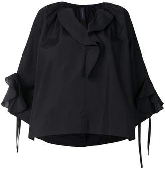 Eudon Choi loose fit ruffled blouse
