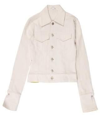 Alice + Olivia Corduroy Denim Jacket