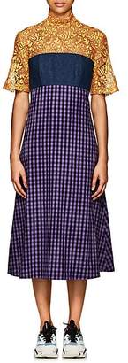 CF GOLDMAN Women's Combo Midi-Dress