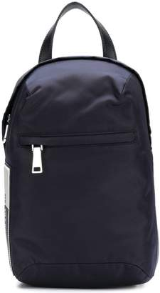 Prada one shoulder backpack