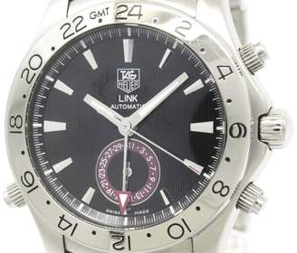 Tag Heuer Link WJF2115 GMT Tiger Woods Stainless Steel Automatic 41mm Mens Watch