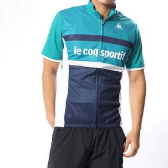 (QCMMGA42) ジャケット le coq sportif バイシクル メンズ ブラック サイクルジャージ ルコック エントリージャージ :