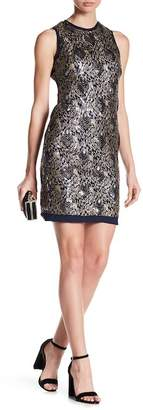 Vince Camuto Sequin Sleeveless Sheath Dress