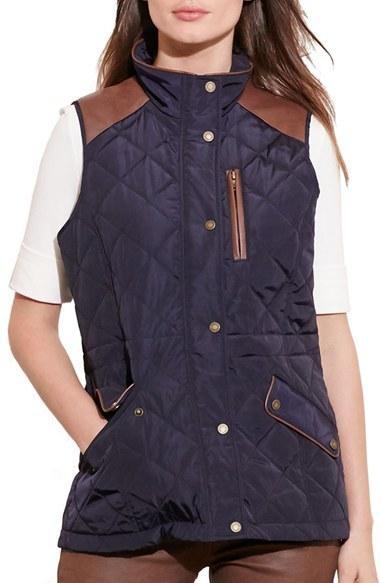 Lauren Ralph LaurenPetite Women's Lauren Ralph Lauren Quilt Vest