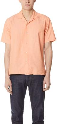 Gitman Brothers Chambray Shirt with Short Sleeves