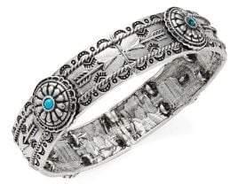 Design Lab Textured Bangle Bracelet