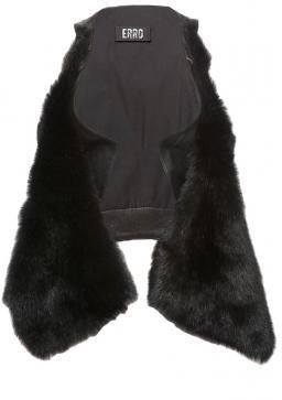 Erro Shearling & Leather Vest