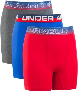 2659ddf74f7308 Under Armour Boys 8-20 Voltage Performance Boxer Briefs
