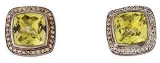 David Yurman Quartz & Diamond Albion Earrings