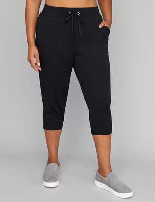 Spa Zipper-Hem Active Capri Jogger